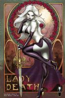 Lady Death: Apocalypse Abyss #2 (of 2) - Violet Edition